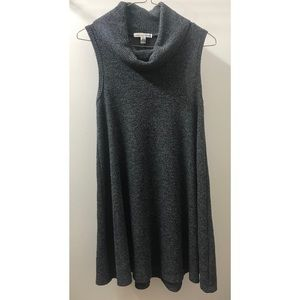 American Eagle Cowl Neck Ribbed Dress
